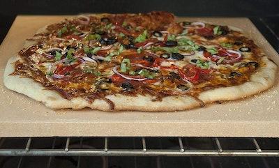 UNICOOK Heavy Duty Ceramic Pizza Grilling Stone