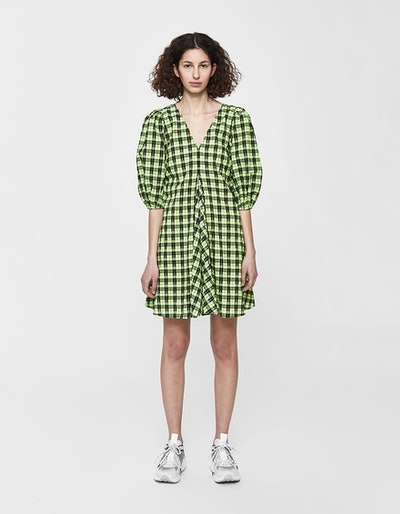Check Mini Dress