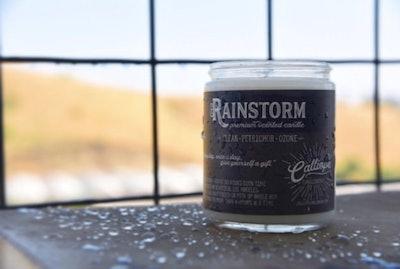 Rainstorm Candle