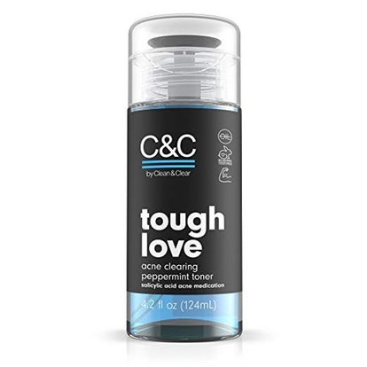C&C By Clean and Clear Tough Love Acne Clearing Peppermint Facial Toner