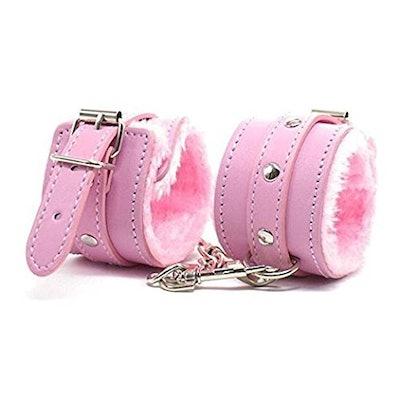 Happyjiu Leather Handcuffs