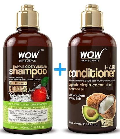 WOW Apple Cider Vinegar Shampoo and Conditioner Set
