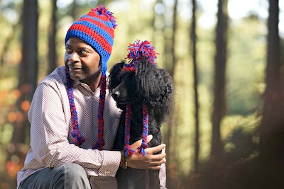 Crochet Dog Hats With Matching Owners Hat
