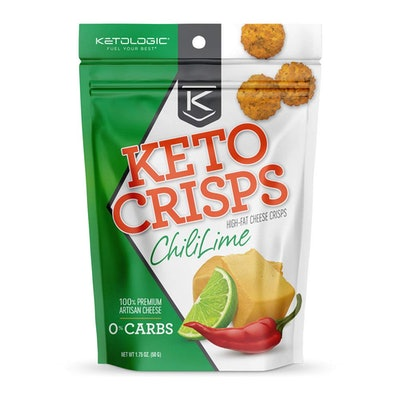 KetoLogic Keto Crisps, Chili Lime