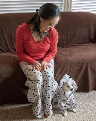 Matching Dog and Human Pajama Lounge Wear