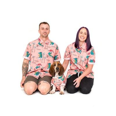 Alligator Matching Dog Fashion