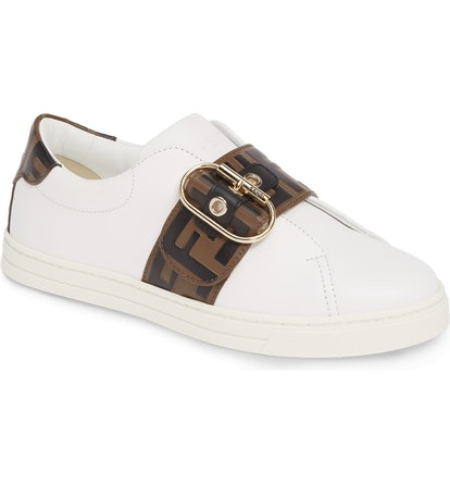 Pearland Logo Slip-on Sneakers
