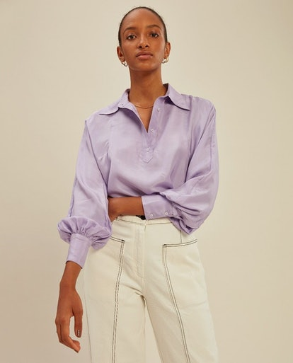 Nic Blouse Lilac
