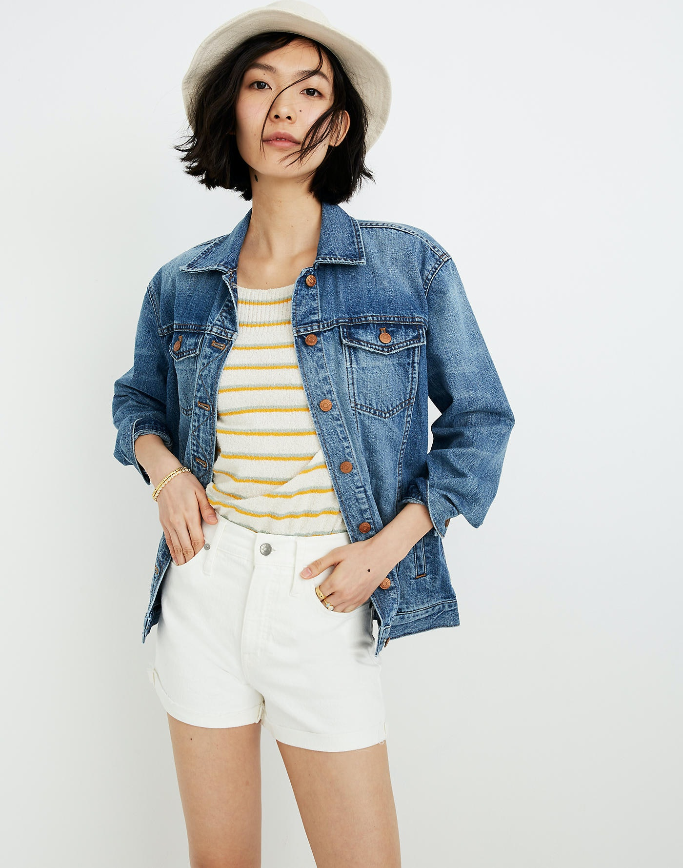 5669770d6 Madewell's Fourth Of July Sale Is Here & There Are A Bunch Of Denim Shorts  Under $60