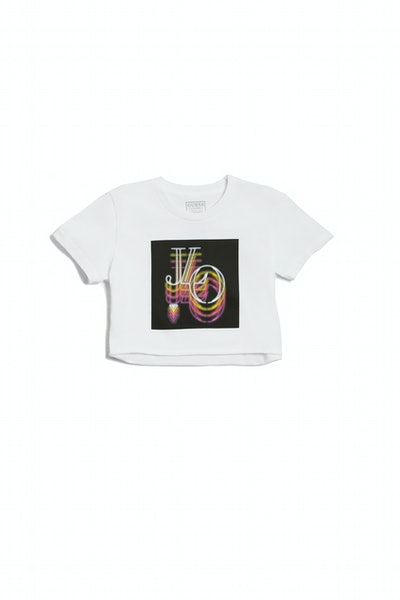 It's My Party Graphic Cropped Tee