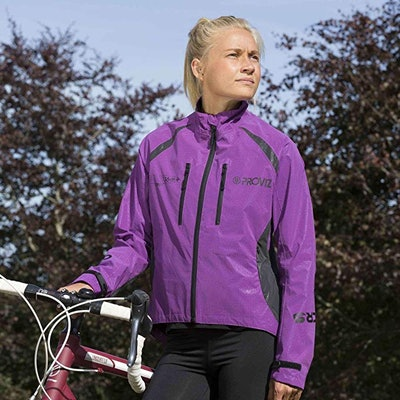 Proviz Reflect360 CRS+ Women's 100% Reflective & Waterproof Cycling Jacket