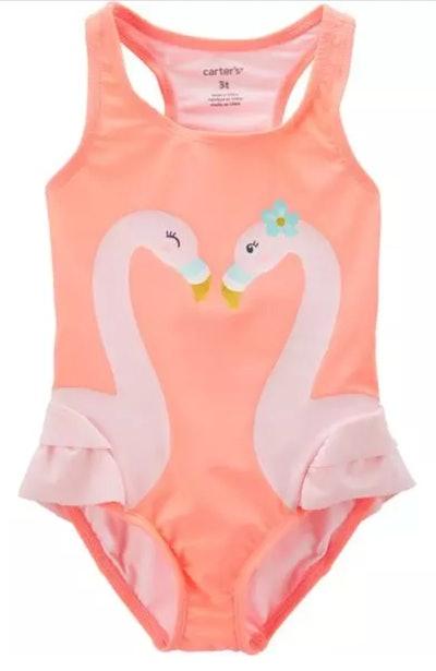 Carter's Flamingo 1-Piece Swimsuit