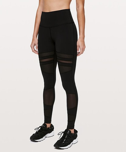 """Wunder Under High-Rise Tight 28""""  Mix & Mesh Online Only"""