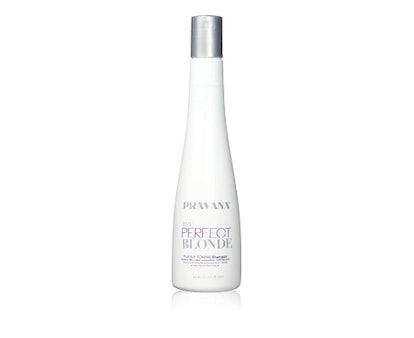 Pravana The Perfect Blonde Purple Toning Sulfate Free Hair Shampoo  (10.1 oz)