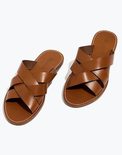 The Boardwalk Woven Slide Sandal