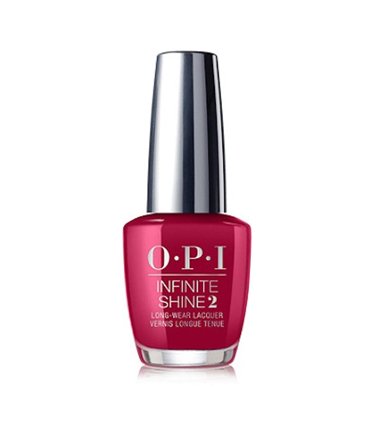 OPI Iconic Infinite Shine in OPI Red