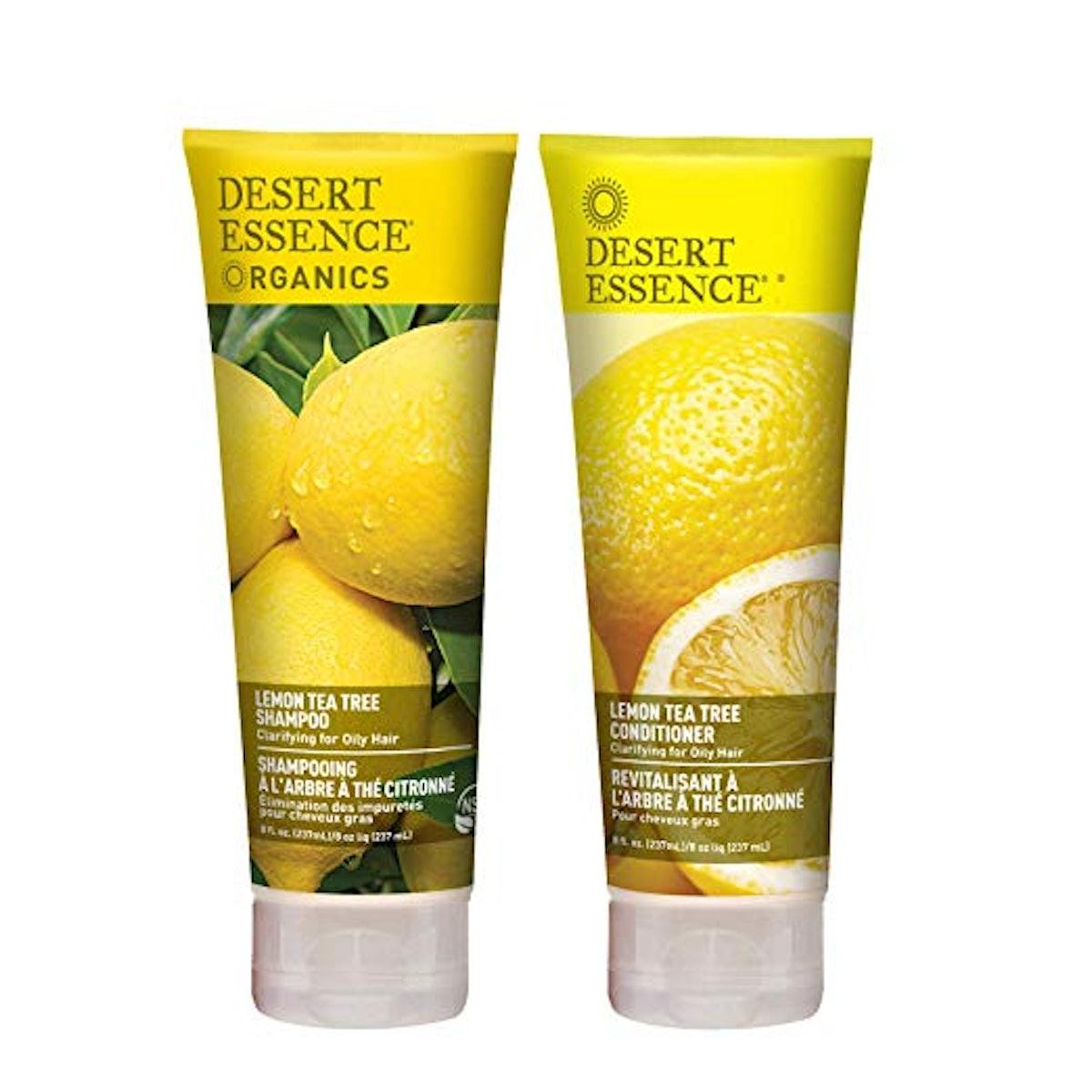 Desert Essence Lemon Tea Tree Shampoo & Conditioner