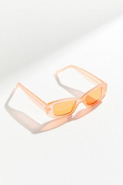 Reese Slim Rectangle Sunglasses