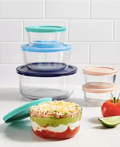 Pyrex Storage Set, (12 pieces)