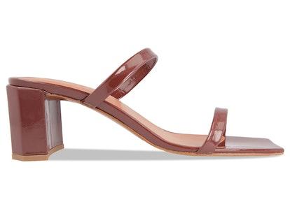 Tanya Brown Patent Leather