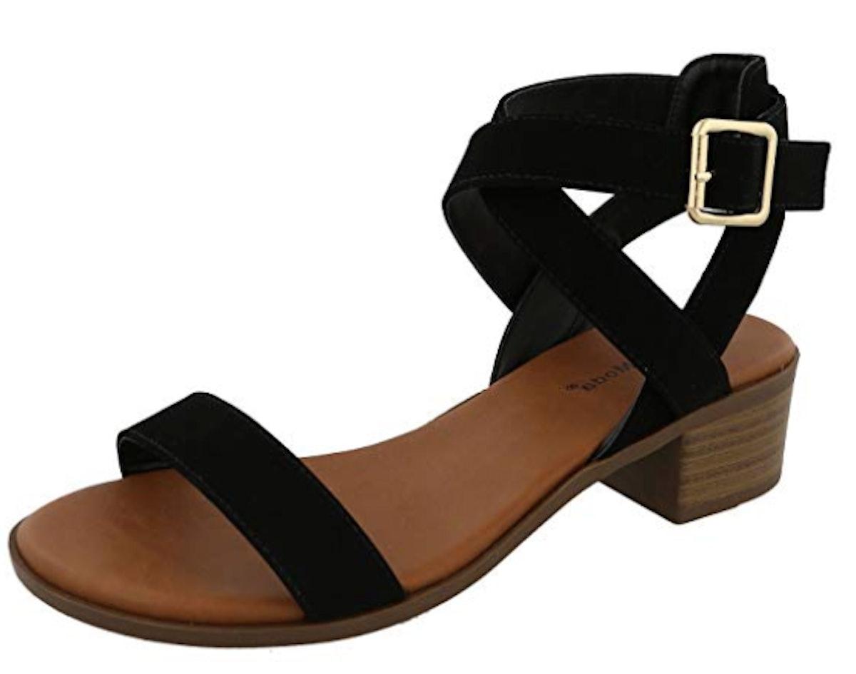 Top Moda Vision-75 Heeled Sandal