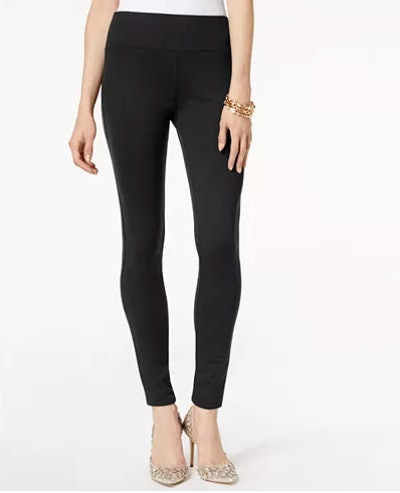 I.N.C. Pull-On Ponte Skinny Pants