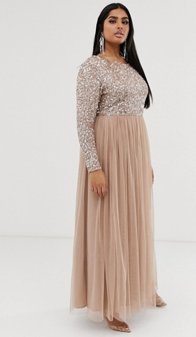Maya Plus Bridesmaid Dress