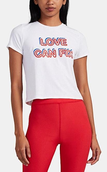 """""""Love Can Fix"""" Jersey T-Shirt"""