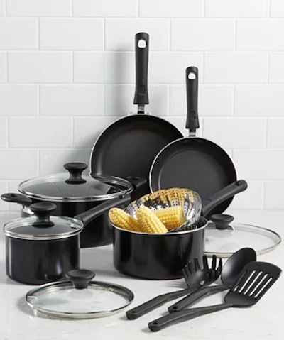 Tools of the Trade Nonstick Cookware Set (13 pieces)