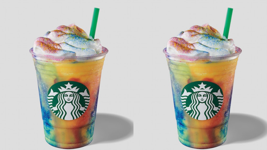 How Long Will Starbucks Tie Dye Frappuccino Be Available