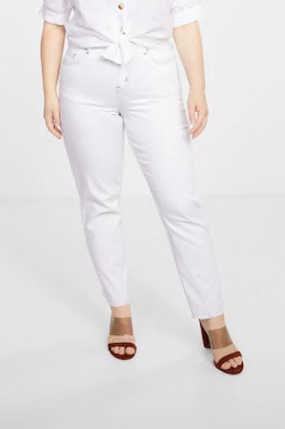 Decorative Seam Jeans