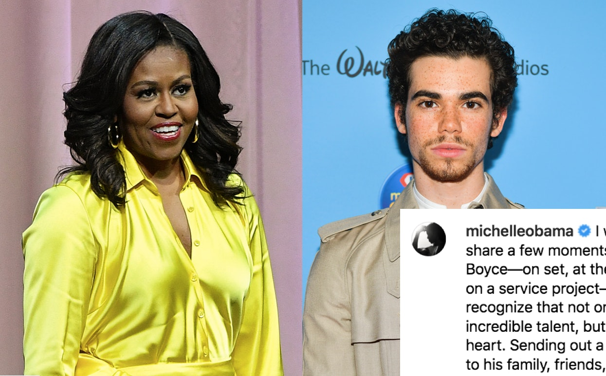 Michelle Obama Said Cameron Boyce Had An Incredible Heart In A Touching Instagram Photo
