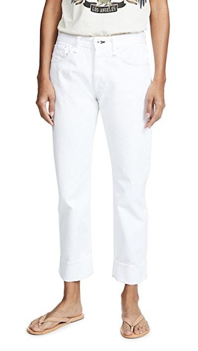 Rosa Mid Rise Boyfriend Jeans