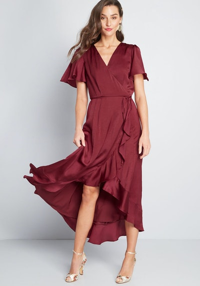 Stunning Wonder Maxi Wrap Dress