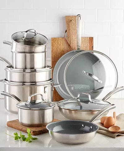 Culinary Science by Martha Stewart Collection Cookware Set (14 Pieces)