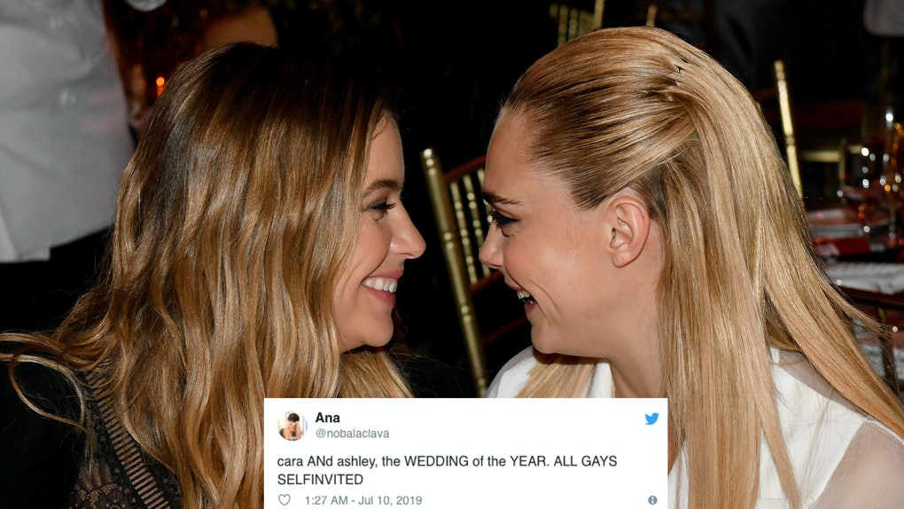 32 Tweets About The Cara Delevingne Ashley Benson Engagement