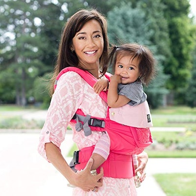 LÍLLÉbaby The Complete Embossed Luxe SIX-Position 360° Ergonomic Baby & Child Carrier