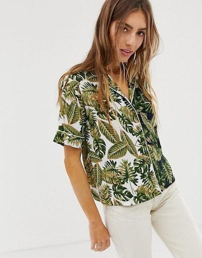 Hawaiian Shirt In Mix & Match Print