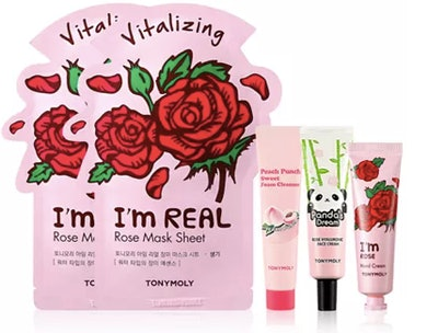 TONYMOLY Glow For It Roses & Peaches Set (6 Pieces)