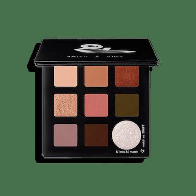 Sombra Shift Matte & Metallic Eyeshadow Palette in Dusk-Blaze