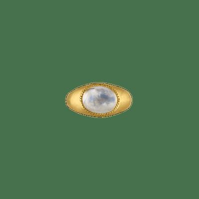 Moonstone Roz Ring