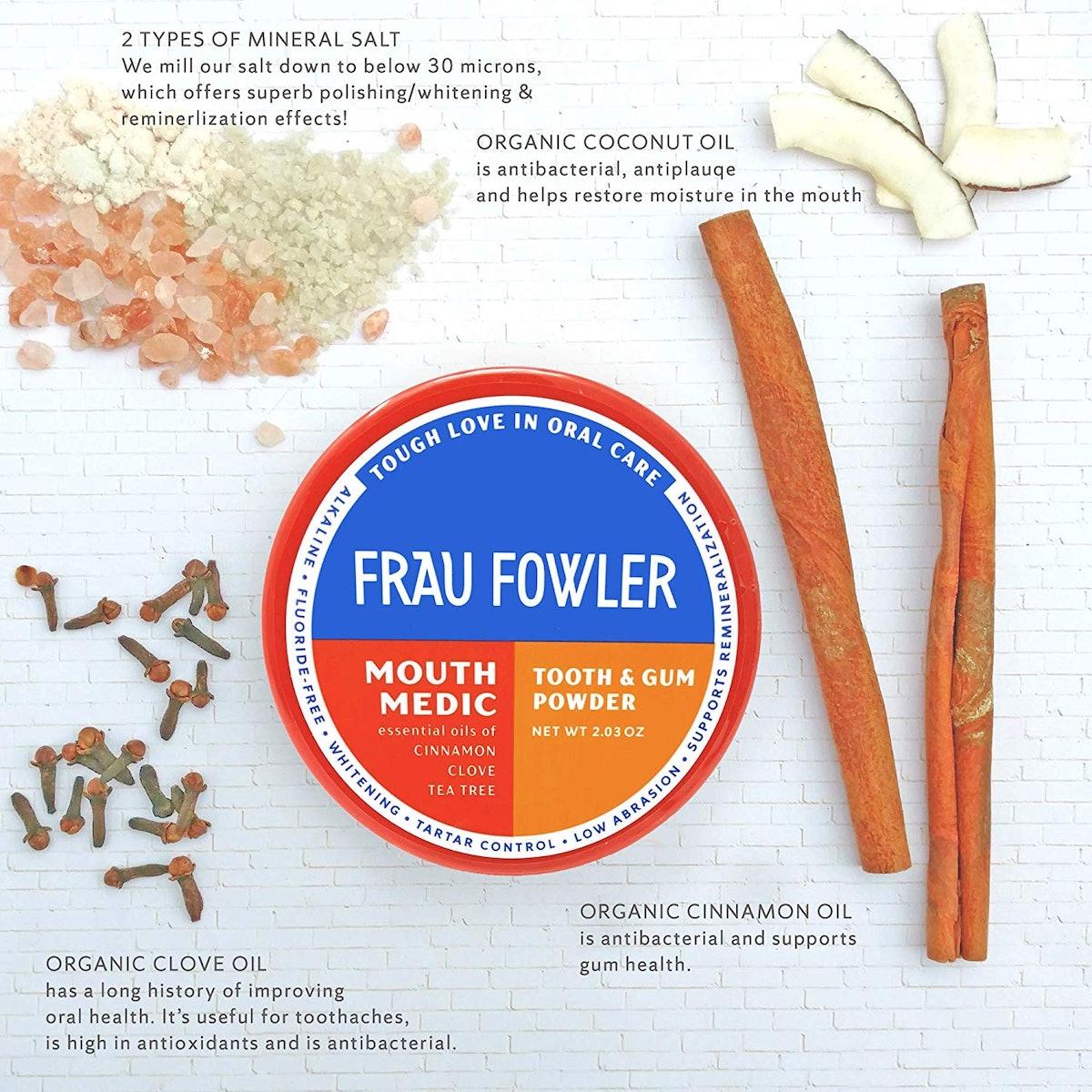 Frau Fowler Whitening Tooth Powder