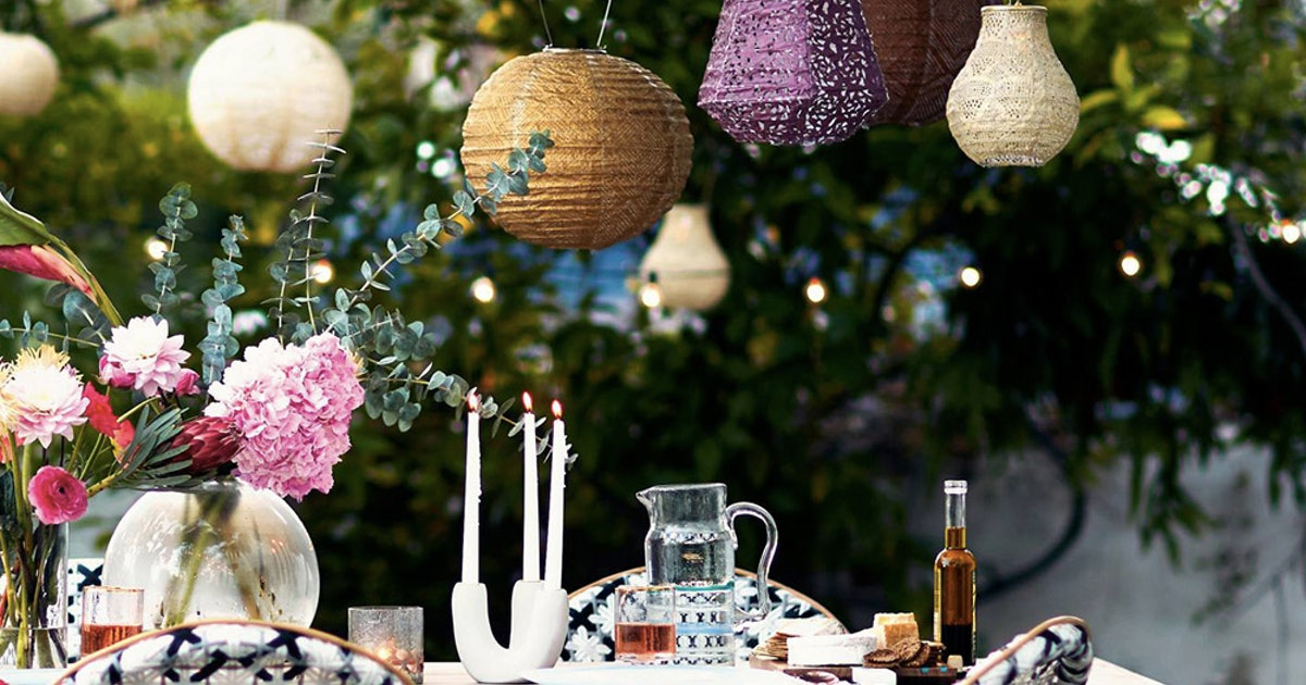 10 Affordable Outdoor Lighting Ideas To Make Your Patio The Ultimate Summer Party Zone