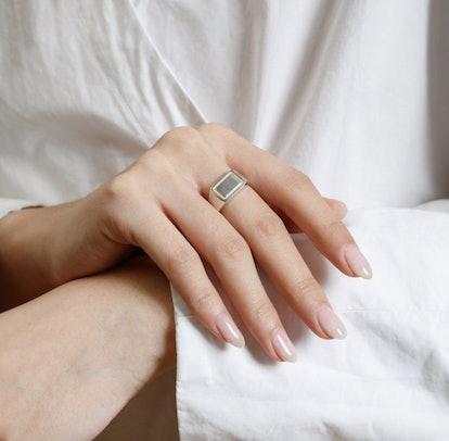 Parker Signet Ring in Sterling Silver