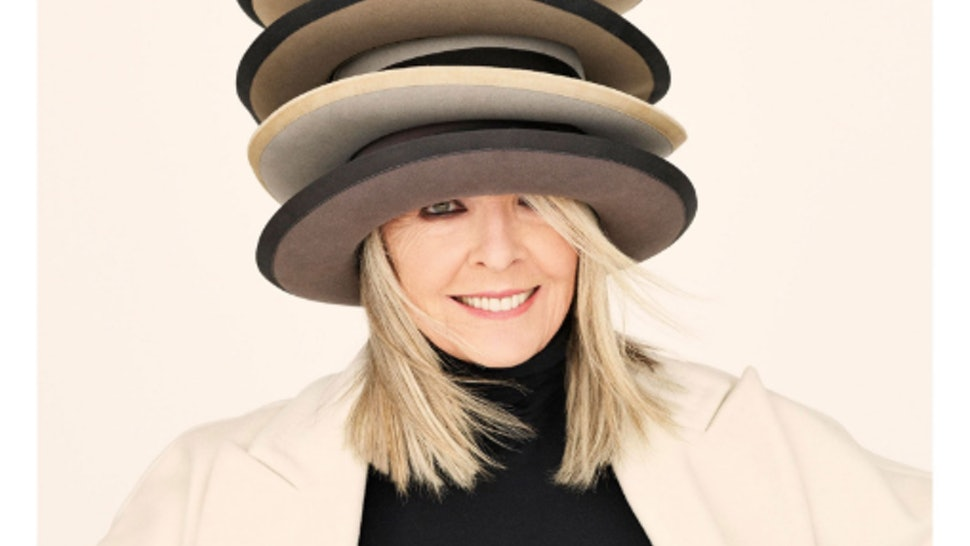 494b3d7c0d8148 Diane Keaton's 'InStyle' Cover Recreates 'Caps For Sale' & It'll Make You So  Nostalgic
