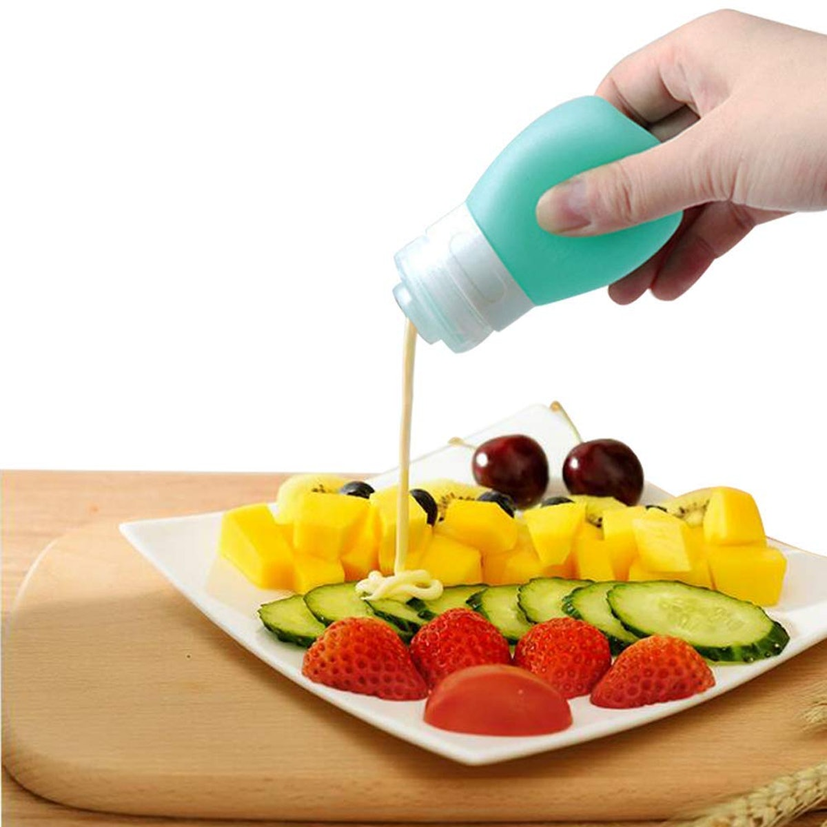 YINGGG Portable Salad Dressing Bottles