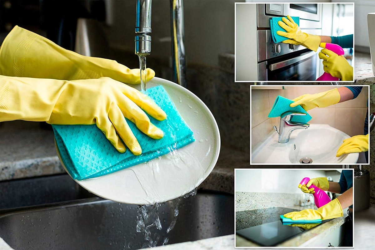 Citrus Reusable Washcloths