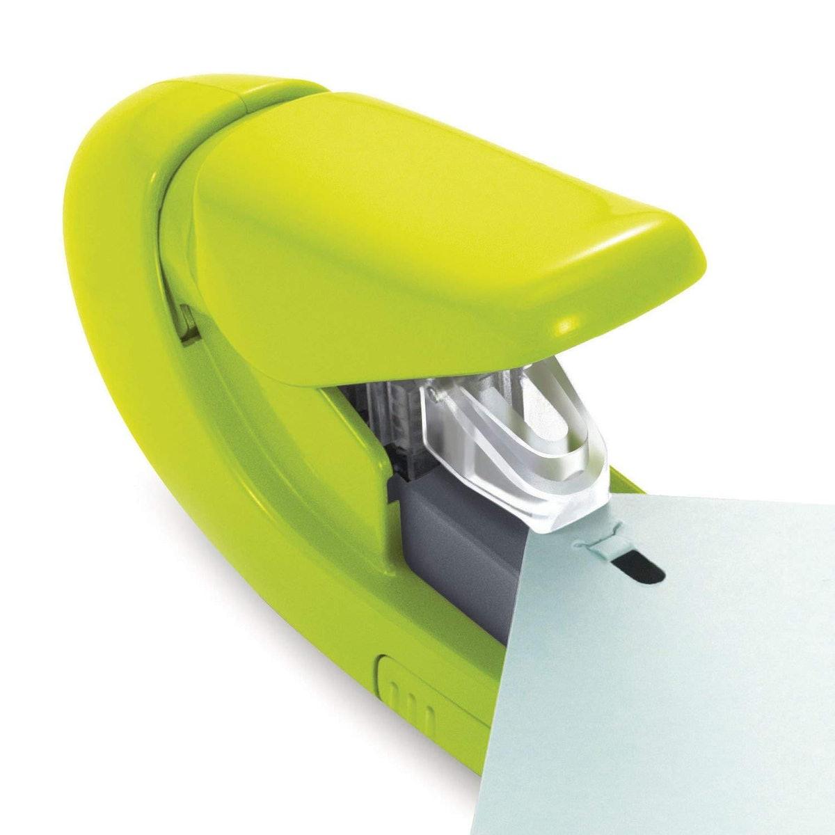 Paper Clinch Staple Free Stapler