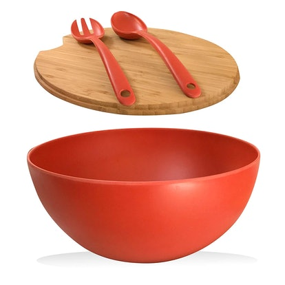 Clean Dezign Serving Bowl and Cutting Board