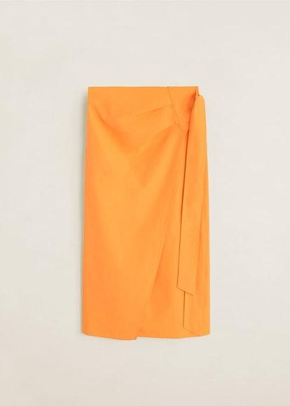 Midi Cross Skirt